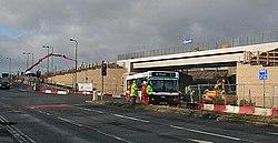 Roadworks on Bankhead Drive (geograph 3332439).jpg