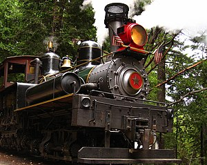 No. 1 at Roaring Camp Railroad. Built in 1912,...
