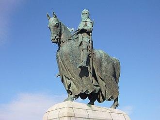 Pilkington Jackson - Statue of Robert the Bruce by Pilkington Jackson, near the Bannockburn Heritage Centre