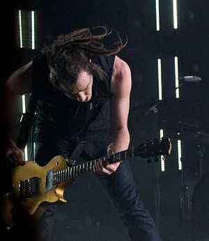 Robin Finck - Robin Finck with Nine Inch Nails in 2008
