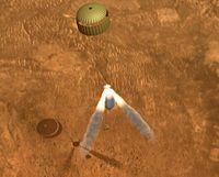 Rocket assisted descent