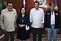 Rodrigo Duterte and his predecessors (Ramos, Estrada, Arroyo) (cropped).jpg