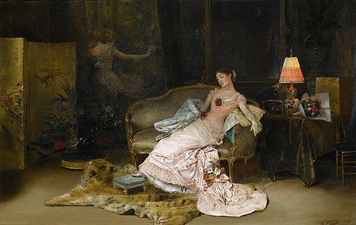 Rogelio de Egusquiza A reverie during the ball 1879