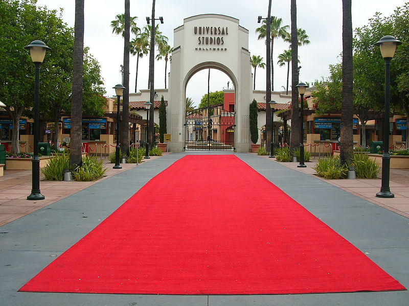 File:Rolled out red carpet at Universal Studios Hollywood.JPG