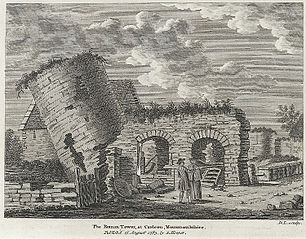 Roman Tower at Caerleon, Monmouthshire