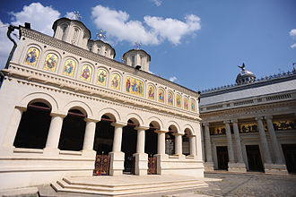 Metropolis of Muntenia and Dobrudja - Romanian Patriarchal Cathedral in Bucharest is also the seat of Metropolis of Muntenia and Dobrudja