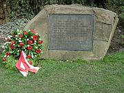 Gedenkstein für die Opfer der Gestapo-Morde