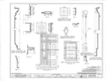 Rosemount, County Road 19, Forkland, Greene County, AL HABS ALA,32-FORK.V,1- (sheet 13 of 16).png