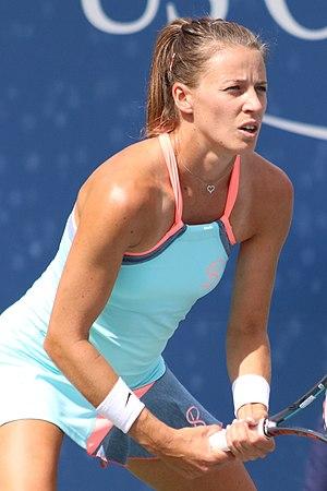 Alicja Rosolska - Rosolska at the 2016 US Open