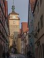 Rothenburg ob der Tauber, Stadtbefestigung, Weißer Turm-20121015-010.jpg
