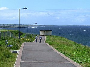 Bundoran - Rougey Cliff Walk.