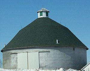 Vernon County, Wisconsin - Image: Round Barn Hillsboro Wisconsin