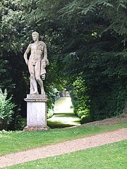 Statue of Apollo at End of Long Walk and Approximately 12 Metres South East of the Temple of Echo