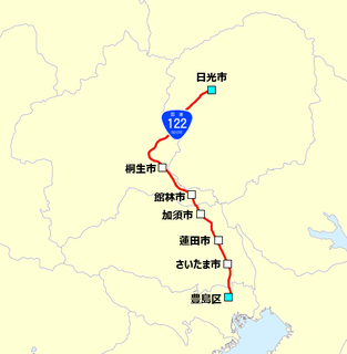 Japan National Route 122