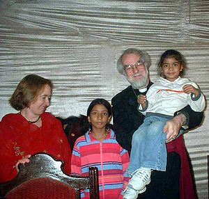 Rowan Williams - Williams visiting Pakistan in 2005