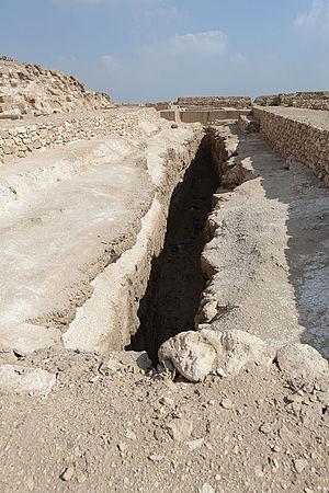 Abu Rawash - Abu Rawash Pyramid Boat Pit