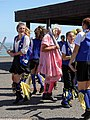 Royal Liberty Morris with 'molly' at Broadstairs Folk Week 2017, Kent, England 5.jpg
