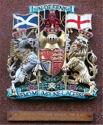 Royal Warrant of Appointment (United Kingdom) - Royal Warrant awarded by Queen Elizabeth II to Jenners, a department store in Edinburgh