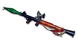 Provisional Irish Republican Army arms importation - RPG-7