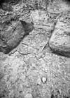 ruïne, ontgraving naar het noorden - voorhout - 20245705 - rce