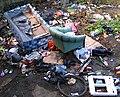 Rubbish, North Circular Road - geograph.org.uk - 724168.jpg
