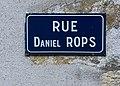 Rue Daniel Rops, panneau de rue, octobre 2019.jpg