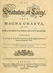 Owen Ruffhead: The Statutes at Large