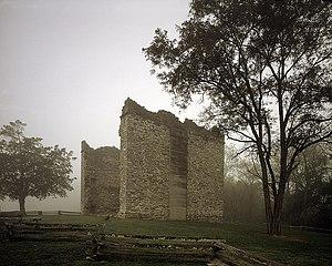 Liberty Hall Site - Image: Ruins Liberty Hill Washington and Lee University Lexington Virginia
