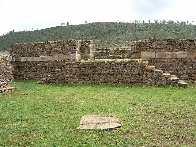 Ruins of Dungur near Aksum