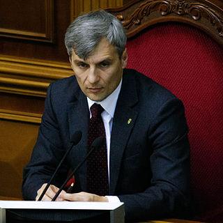 Ruslan Koshulynskyi Ukrainian politician
