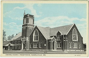 Russellville, Arkansas - Central Presbyterian Church, 1925