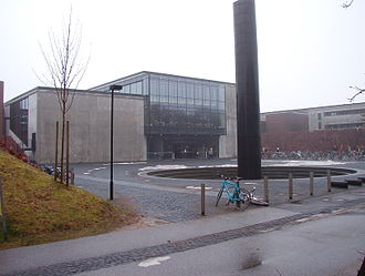 University of Southern Denmark - The university's campus Odense, also known as The Rusty Castle