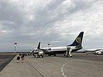 Ryanair's aircraft, Zadar Airport.jpg