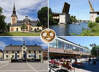 Södertälje City in Södermanland, Sweden