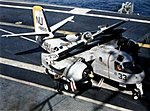 S-2E VS-25 on USS Yorktown (CVS-10) 1966.jpg