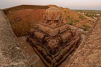 Pandyan dynasty - Vettuvan Koil, Pandyan Empire, 8th century CE