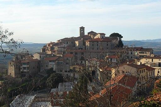 panorama Gavorrano
