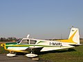SIAI S.205 I-MARL in the sunshine at Biella (3388105270).jpg