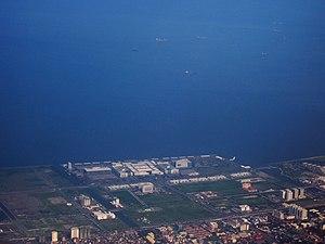 Bay City, Metro Manila - Image: SM Mall of Asia Complex, Pasay City Aerial Photo