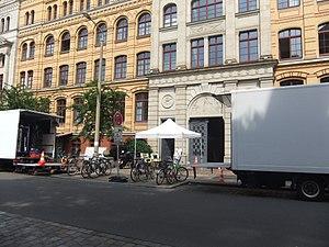 Leipzig Homicide - Image: SOKO Leipzig Inselstraße 1