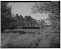 SOUTH SIDE, LOOKING NORTHWEST - Heath Bridge, Bloomberg road over Chippewa River, Exeland, Sawyer County, WI HAER WIS,57-EXEL.V,1-3.tif