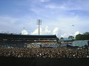 2009 Indian Premier League - Image: SS park