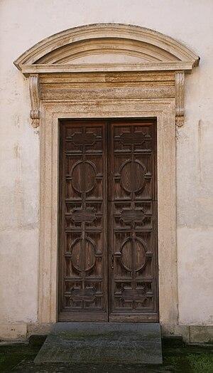 Santa Maria Nova, Vicenza - Portal