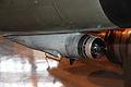 Saab 35FS Draken DK-223 IRST Keski-Suomen ilmailumuseo.JPG