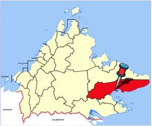 Lahad Datu - Image: Sabah Districts Lahad Datu pp