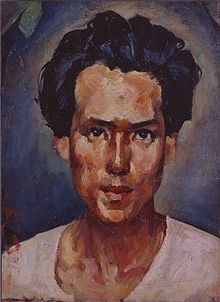 Saeki Yuzo self-portrait.jpg