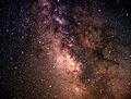 Sagittarius region - Milky Way on slide film - Taken at Dune Road Westhampton Beach, Long Island, New York - 26 July 1998.jpg