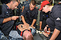 Sailors participate in medical drill 121029-N-TG831-050.jpg