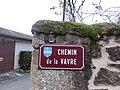 Saint-Germain-sur-l'Arbresle - Chemin de la Vavre (plaque).jpg
