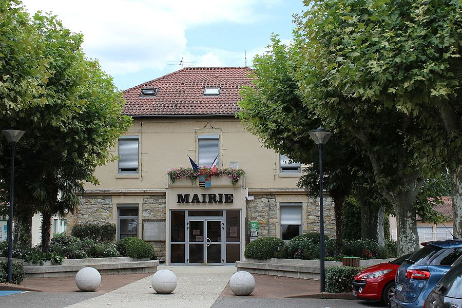 Mairie de Saint-Just-Chaleyssin.